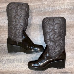 COACH Winter Cantina Boots